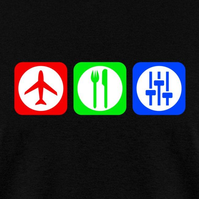 Fly, Eat, Tech - RGB