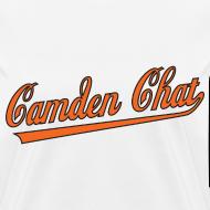 Design ~ Women's Front/Back: Camden Chat/URL (white)