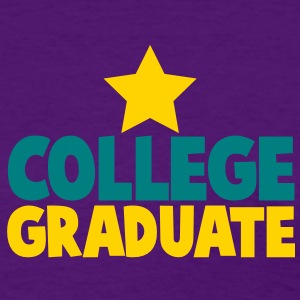 college graduate educated design with a star Women's T-Shirts - Women's T-Shirt