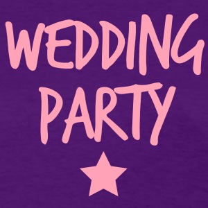 wedding party new funky and with a star Women's T-Shirts - Women's T-Shirt