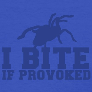 I BITE! if provoked! creepy spider scary!  Women's T-Shirts - Women's T-Shirt