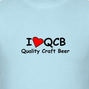 I love Quality Craft Beer T-shirt  - Men's T-Shirt