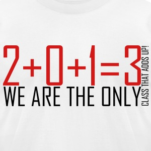 2013 Class Shirt Design T-Shirts - Men's T-Shirt by American Apparel