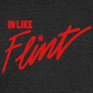 In Like Flint T-Shirts - Unisex Tri-Blend T-Shirt by American Apparel