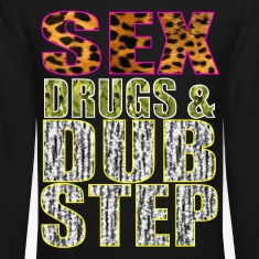 sex drugs & dubstep Long Sleeve Shirts