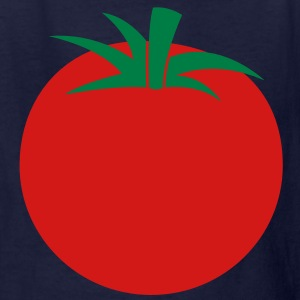 a simple tomato with green stalk Kids' Shirts - Kids' T-Shirt