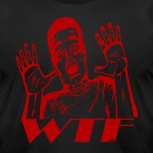 WTF - Men's T-Shirt by American Apparel