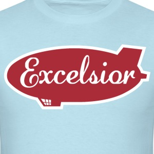 Excelsior Airship T-Shirts - Men's T-Shirt