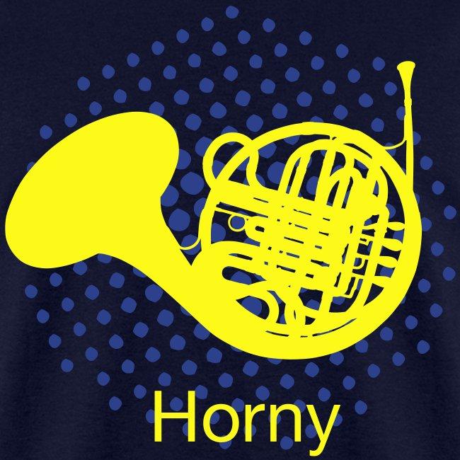 Horny T-shirt Mens standard