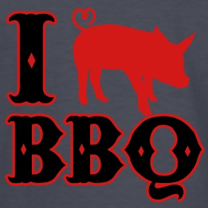 I love BBQ Kids' Shirts - Kids' Long Sleeve T-Shirt