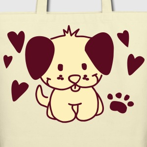 little dog Bags  - Eco-Friendly Cotton Tote