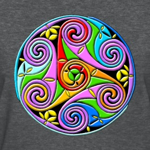 Celtic Illumination – Trinity Swirl I - Women's T-Shirt