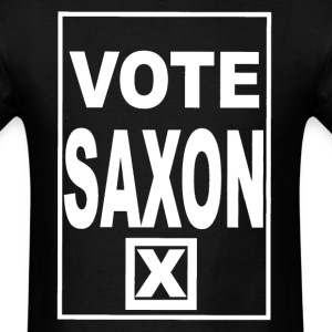 Vote Saxon (white text) Men's - Men's T-Shirt