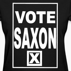 Vote Saxon (white text) Women's