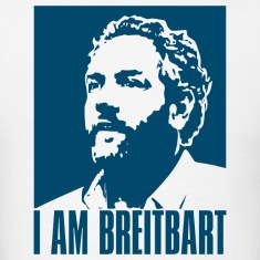 I am Breitbart - white