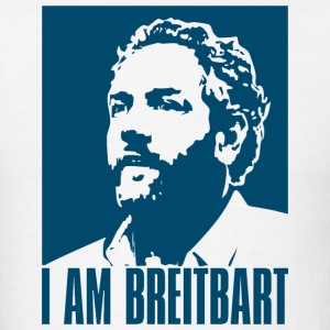 I am Breitbart - white - Men's T-Shirt