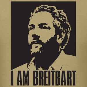 I am Breitbart - shirt, natural - Men's T-Shirt