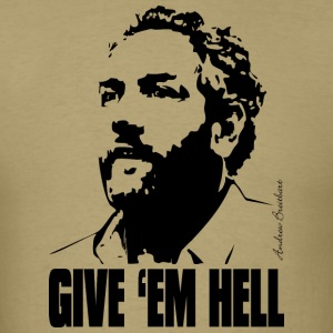 Breitbart - Give 'em Hell - natural - Men's T-Shirt