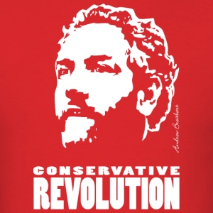 Breitbart - Conservative Revolution - red - Men's T-Shirt