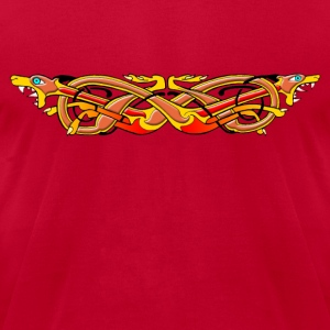 Celtic Illumination – Mad Dog Knot - Men's T-Shirt by American Apparel