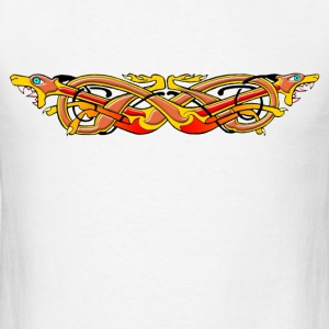 Celtic Illumination – Mad Dog Knot - Men's T-Shirt