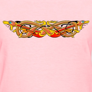 Celtic Illumination – Mad Dog Knot - Women's T-Shirt