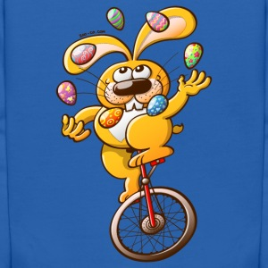 Easter Bunny Juggling Eggs Sweatshirts - Kids' Hoodie