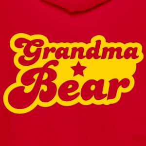 grandma bear Zip Hoodies/Jackets - Unisex Fleece Zip Hoodie by American Apparel
