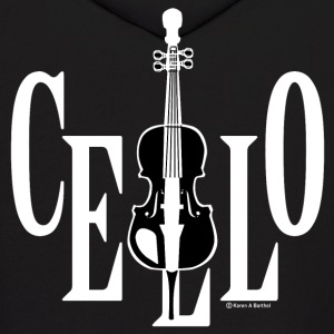 Cello In Cello White Hoodies - Men's Hoodie