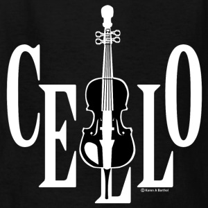Cello In Cello White Kids' Shirts - Kids' T-Shirt