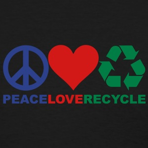 Peace Love Recycle Shirt - Women's T-Shirt