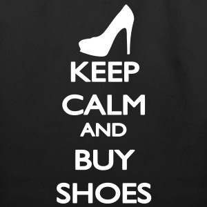Keep Calm and buy Shoes Bags  - Eco-Friendly Cotton Tote