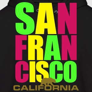 San Francisco - Bay Area - California - Men's Hoodie