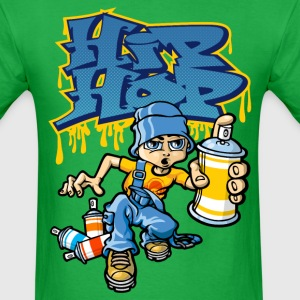 Hip_hop graffitis and b-boy T-Shirts - Men's T-Shirt