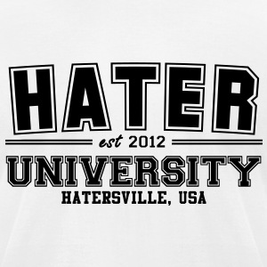 hater T-Shirts - Men's T-Shirt by American Apparel