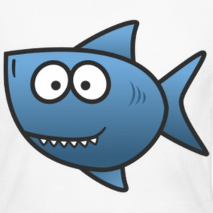 Shark Fish - Women's Long Sleeve Jersey T-Shirt