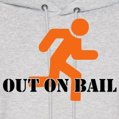 Out on Bail Hoodies