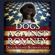 Design ~ Official Dogs Against Romney Portuguese Water Dog Womens Tee