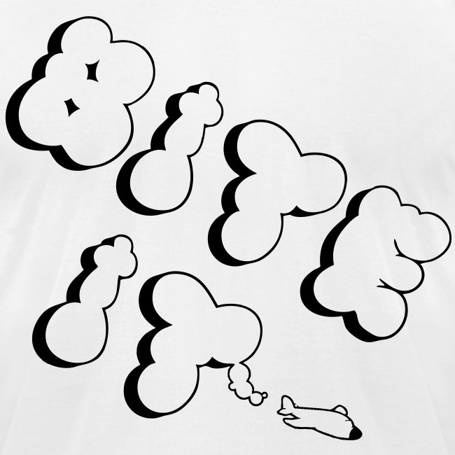 Men's Clouds T-Shirt