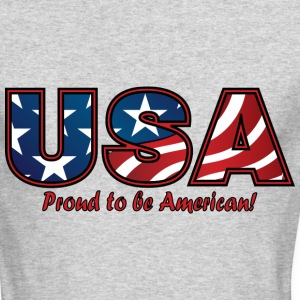 American Pride - Men's Long Sleeve T-Shirt by Next Level
