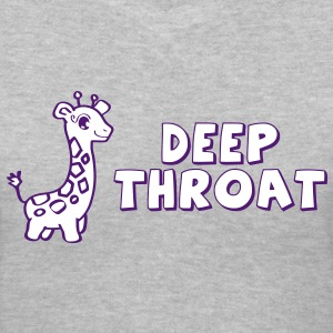 Deep Throat - Women's V-Neck T-Shirt