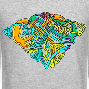 Celtic Illumination – Dog Knots - Crewneck Sweatshirt
