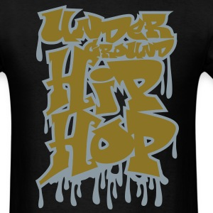 Hip_hop Graffiti T-Shirts - Men's T-Shirt