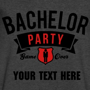 bachelor party T-Shirts - Men's V-Neck T-Shirt by Canvas