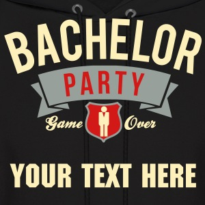 bachelor party Hoodies - Men's Hoodie