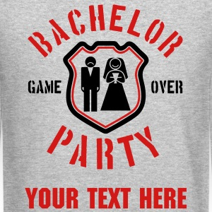bachelor party Long Sleeve Shirts - Crewneck Sweatshirt