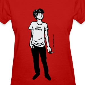 Don Depresso Standing - Women's T-Shirt