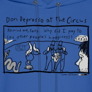 Don Depresso at the Circus - Men's Hoodie