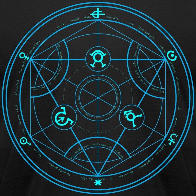Bltz Designs Human Transmutation Circle And Formula No Glow
