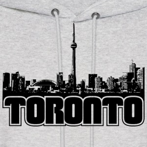Toronto Skyline Hooded Sweatshirt - Men's Hoodie